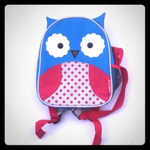Skip Hop Owl zoo backpack safety harness baby kid